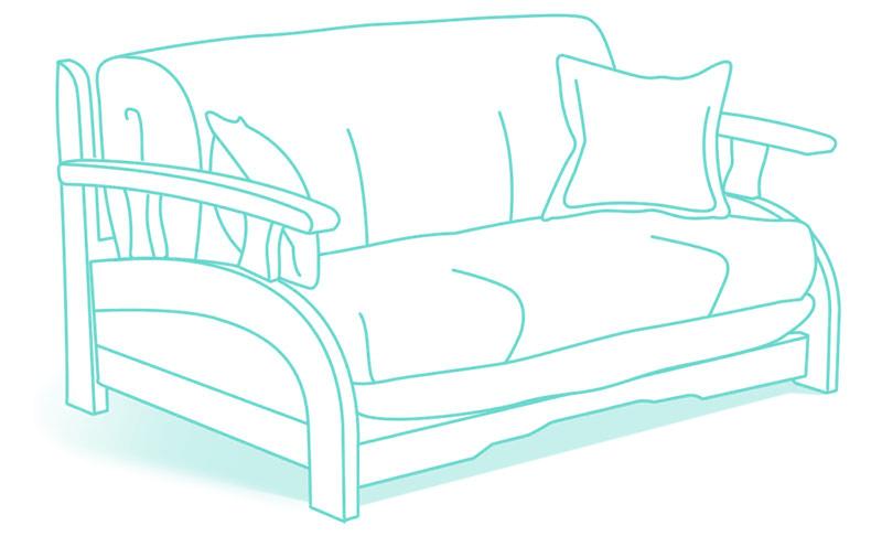 диваны аккордеон купить диван с механизмом аккордеон недорого в москве